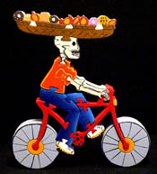 bicycling calavera puzzle!
