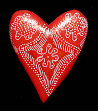 Oaxacan heart magnet
