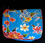 oilcloth messenger bag