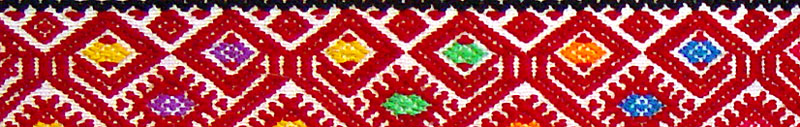 detail: Chiapas weaving