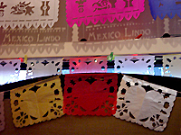 heart papel picado