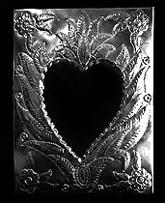 espejo corazon