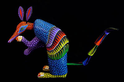 Armadillo by Zeny Fuentes up for auction!