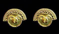 precolumbian earrings
