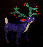 reindeer with cacti antlers  by Sergio Santos
